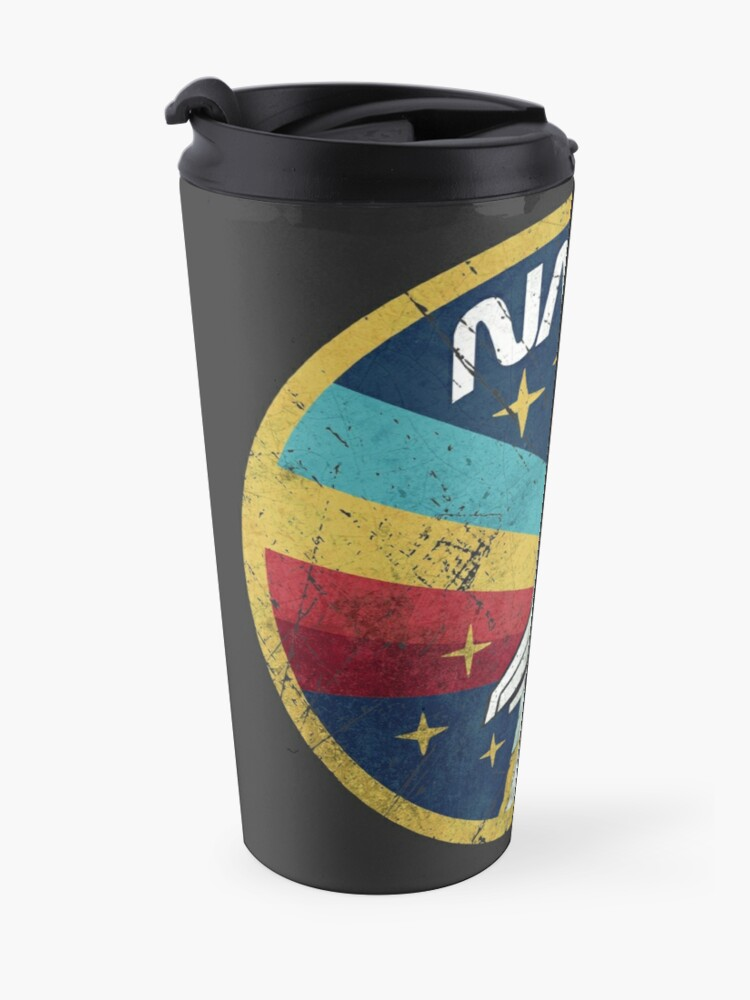 Alternate view of Nasa Vintage Colors V01 Travel Mug