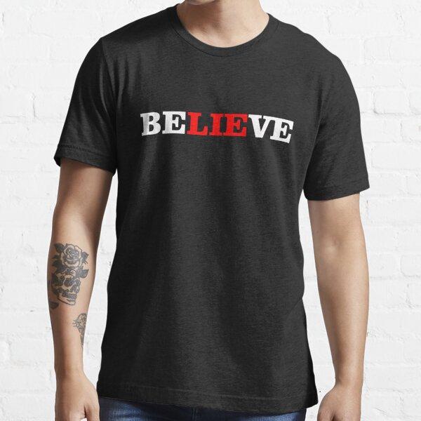 CREER / MENTIRA Camiseta esencial