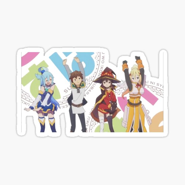 Konosuba 4 Sticker