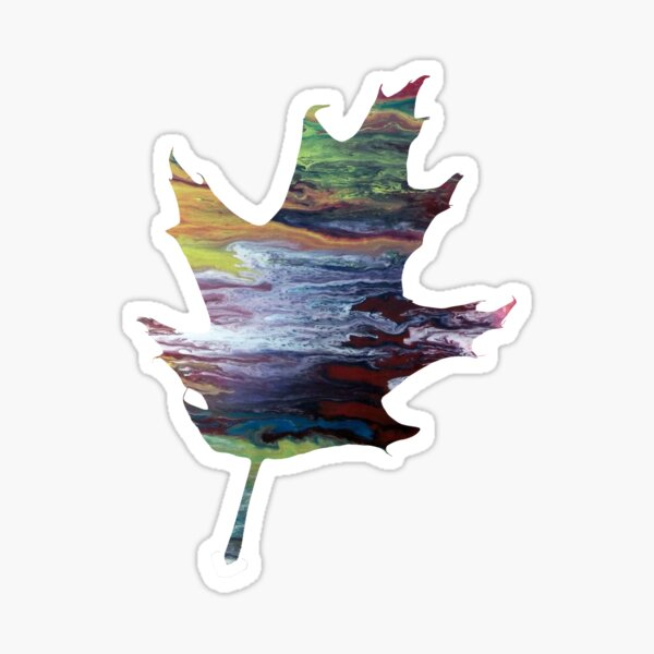 Oak leaf Sticker