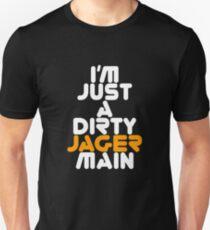I Main Jager Rainbow Six Siege White Text T-Shirt