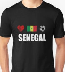Senegal Football Shirt - Senegal Soccer Jersey Unisex T-Shirt
