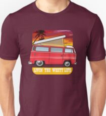 Red T2 Camper Westy Life T-Shirt