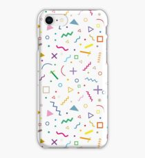 80s shapes iPhone Case/Skin