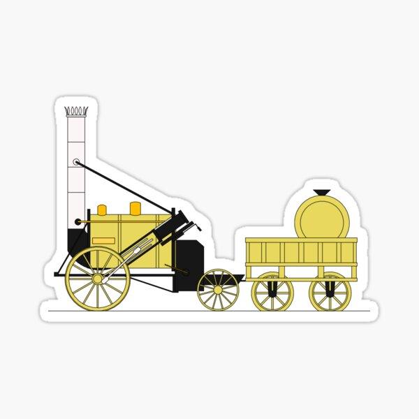 Stephenson's Rocket Print Sticker