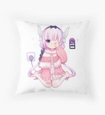 Loli Dragon Throw Pillow