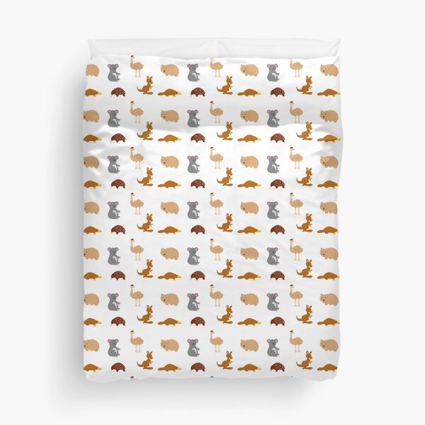 Australian Animals Duvet Cover