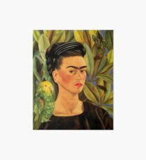 Frida Kahlo Self-portrait with Bonito Art Board