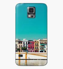 Triana, die Schöne Hülle & Klebefolie für Samsung Galaxy