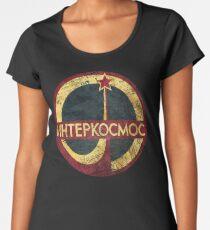 CCCP Interkosmos V02 Women's Premium T-Shirt