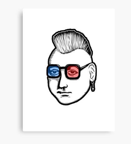 Captain Punk 3D Canvas Print