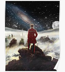 Wanderer above the sea of SWAG Poster