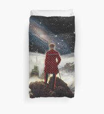 Wanderer above the sea of SWAG Duvet Cover