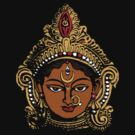 Goddess Durga by ramanandr
