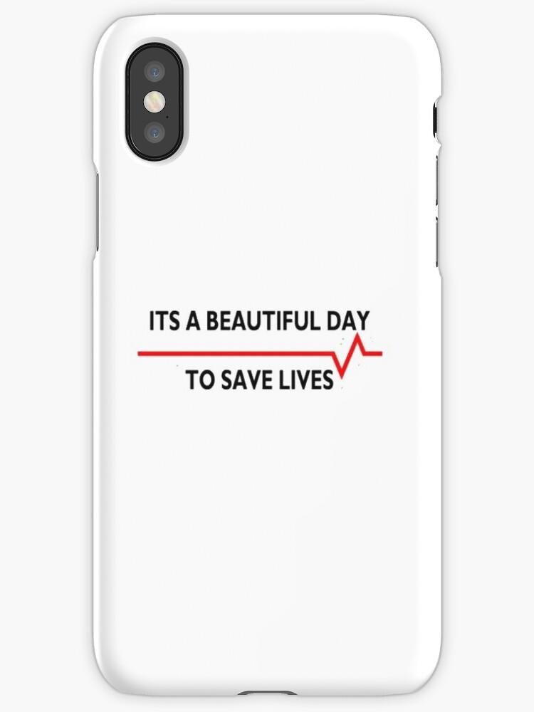 Schöner Tag, um Leben zu retten, graue Anatomie\