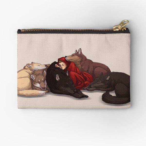 Wolf Pack Zipper Pouch