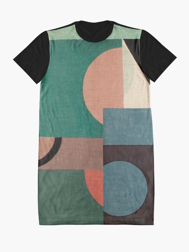 Alternate view of Sailing in Calm Nightfall Graphic T-Shirt Dress