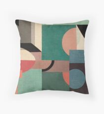 Sailing in Calm Nightfall Throw Pillow