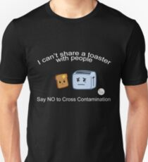 Aussie Coeliac No Contamination Toaster Unisex T-Shirt