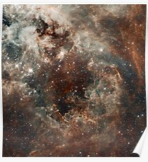 Hubble Space Telescope Print 0018 - The Tarantula Nebula in the Large Magellanic Cloud - hs-2012-01-g-full_jpg Poster