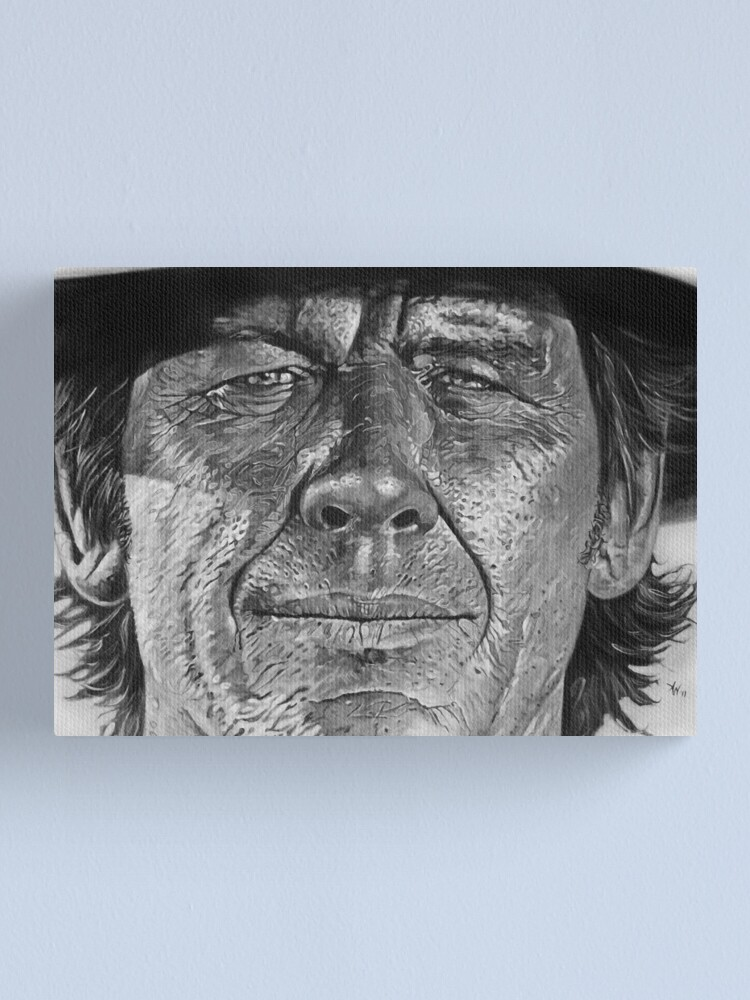 Alternate view of Charles Bronson Canvas Print