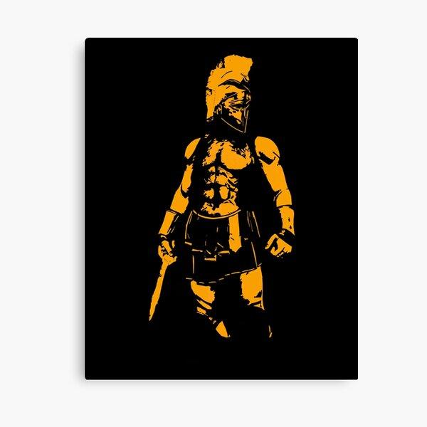 Spartan Hero Canvas Print