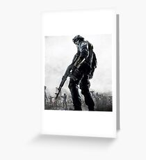 Black Ops Greeting Card