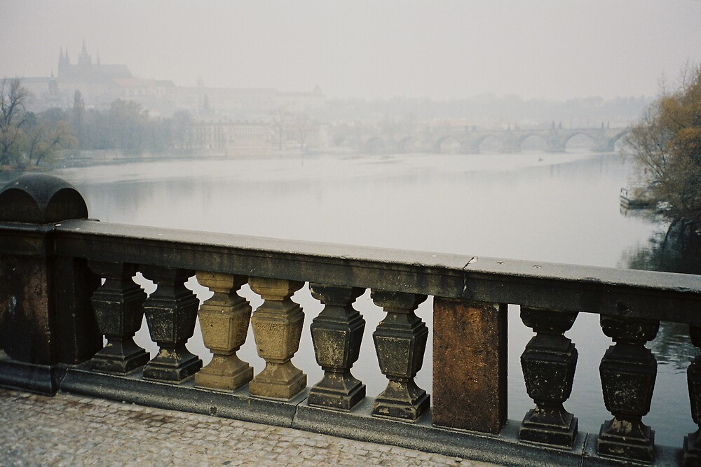 Foggy Morning in Praha by Kate Powick