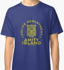 Amity Island Police Department : Inspired by Jaws Classic T-Shirt