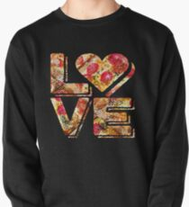 I Love Heart Pizza Yummy Pepperoni Cheese Bread Pullover