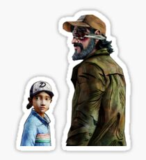 Kenny and Clementine Sticker