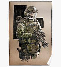 Military Polizei Poster