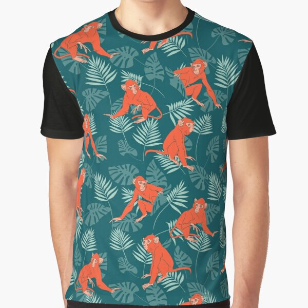 Monkey Forest Graphic T-Shirt