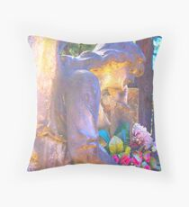 Sparkling Angels Throw Pillow