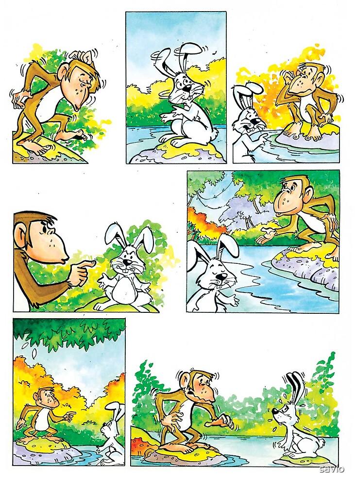 comic page by savio