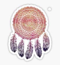 Purple Sunset Dreamcatcher Sticker