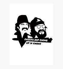 Cheech and Chong Up In Smoke hemp Photographic Print