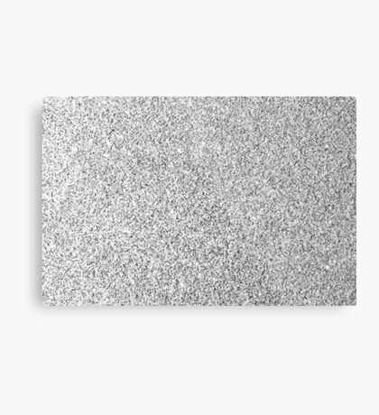 Beautiful Silver glitter sparkles Metal Print