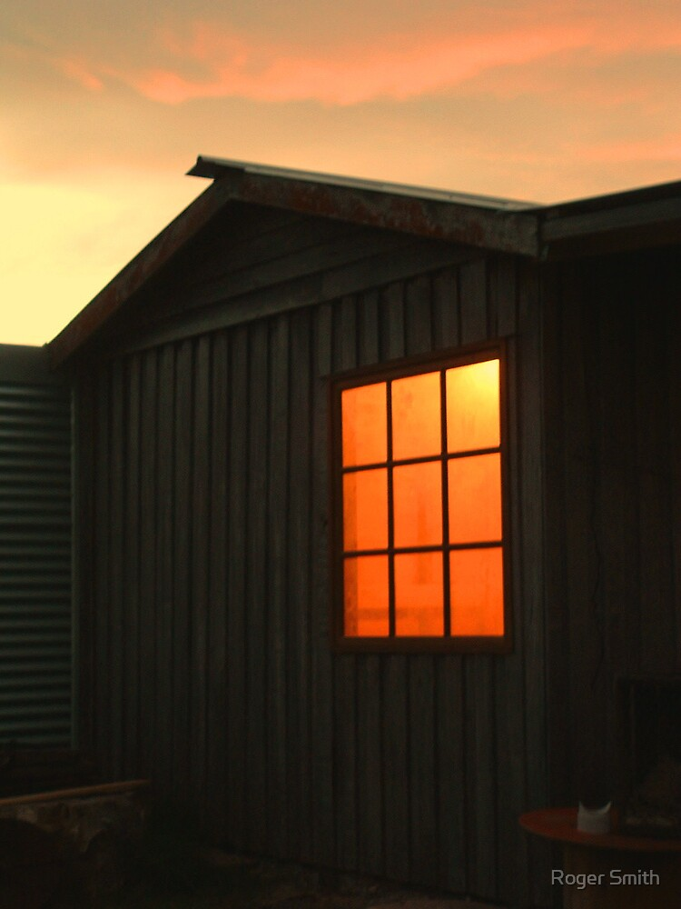 Light through window by Roger Smith
