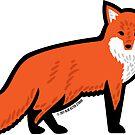 Cute Fox by BlueAsterStudio