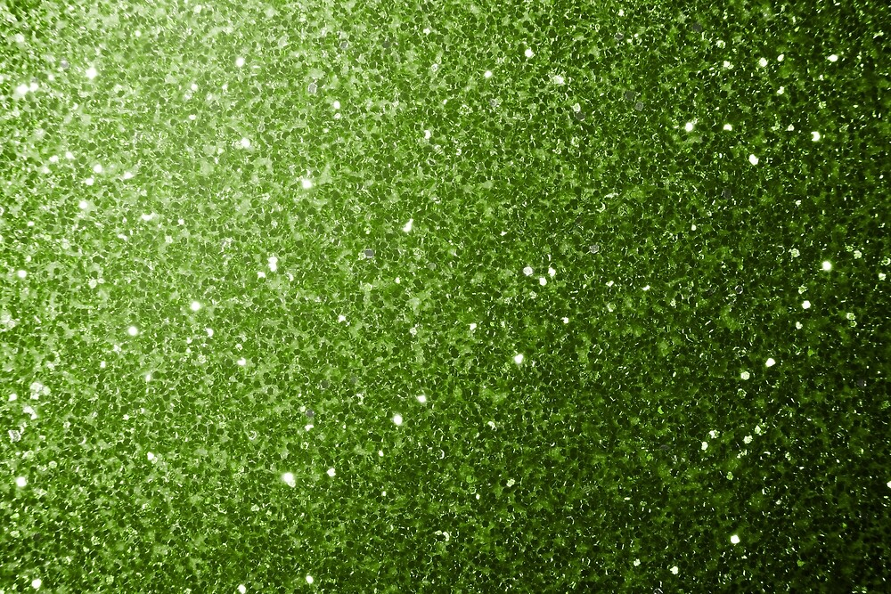 Beautiful light green greenery glitter sparkles by PLdesign