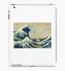 Hokusai, The Great Wave off Kanagawa, Japan, Japanese, Wood block, print iPad Case/Skin
