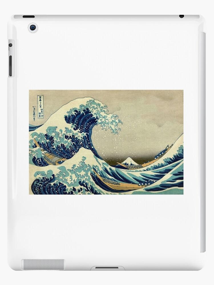 Hokusai, The Great Wave off Kanagawa, Japan, Japanese, Wood block, print by TOM HILL - Designer