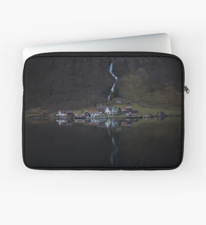 Fluss, der verschwindet Laptoptasche