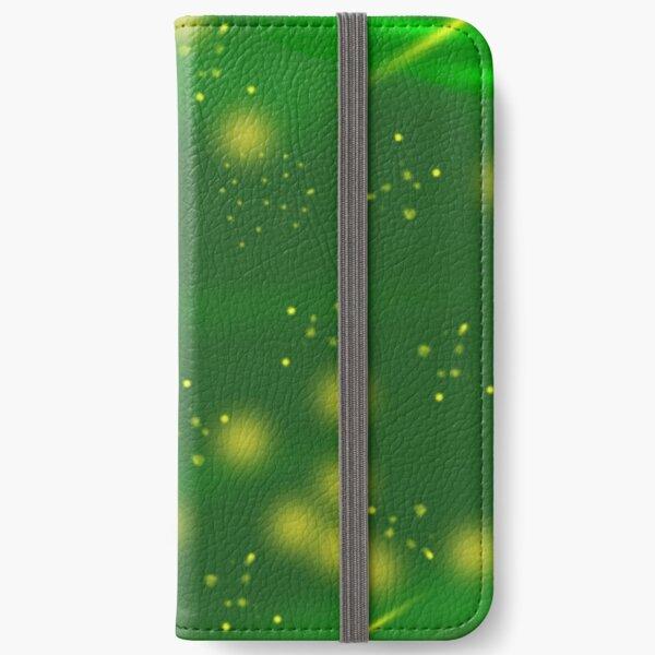 Golden nebulae iPhone Wallet