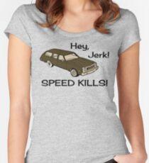 Hey Jerk Speed Kills Women's Fitted Scoop T-Shirt