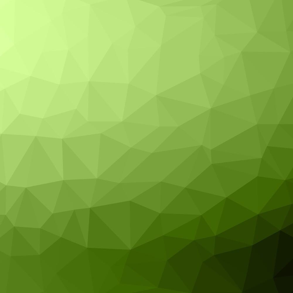 Greenery ombre gradient geometric mesh pattern by PLdesign