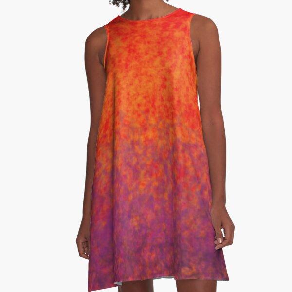 Fire bubbles A-Line Dress
