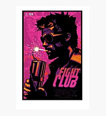 Fight Club Film Photographic Print