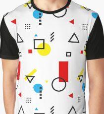 Bauhaus-esque Mid Century Modern 3 Graphic T-Shirt